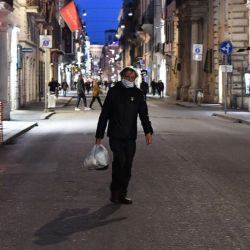 American living in northern Italy describes life under quarantine