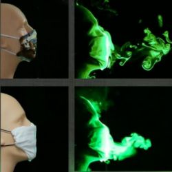 Scientists test which face covering style best protects against the coronavirus