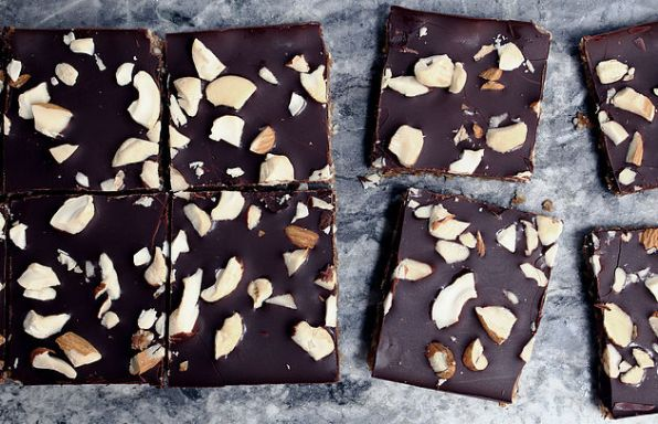 Nuts Over Chocolate Bars