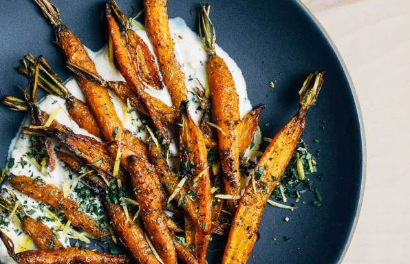 Roasted Carrots With Creme Fraiche19