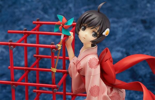 Tsukihi Araragi Nisemonogatari (Bakemonogatari) 1/8 Complete Figure / Истории монстров фигурка Цукихи Арараги