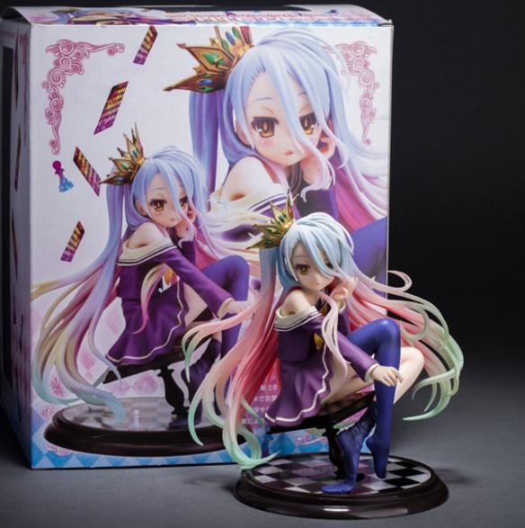 No Game No Life Shiro 1/7 Scale Boxed PVC / аниме фигурка Сиро