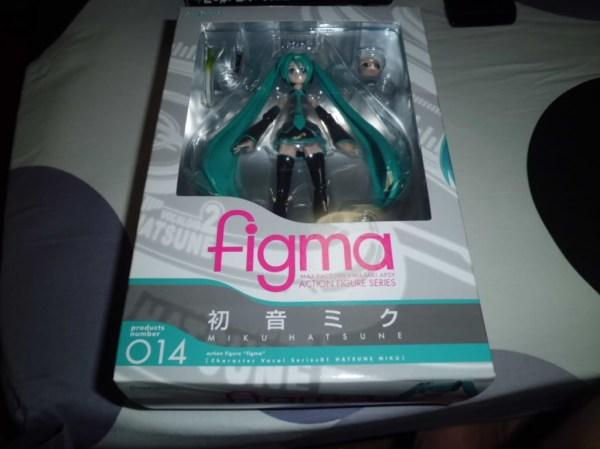 Figma 014. Miku Hatsune Vocaloid / Хатсуне Мику фигурка фигма Вокалоид