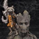 Guardians of the Galaxy Groot and Rocket Raccoon Complete Figure / Стражи Галактики Грут и реактивный енот фигурка