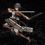 Mikasa Ackerman Attack on Titan Complete figure / Вторжение гигантов Микаса фигурка 4