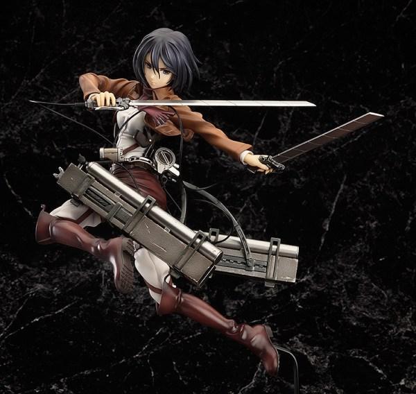 Mikasa Ackerman Attack on Titan Complete figure / Вторжение гигантов Микаса фигурка