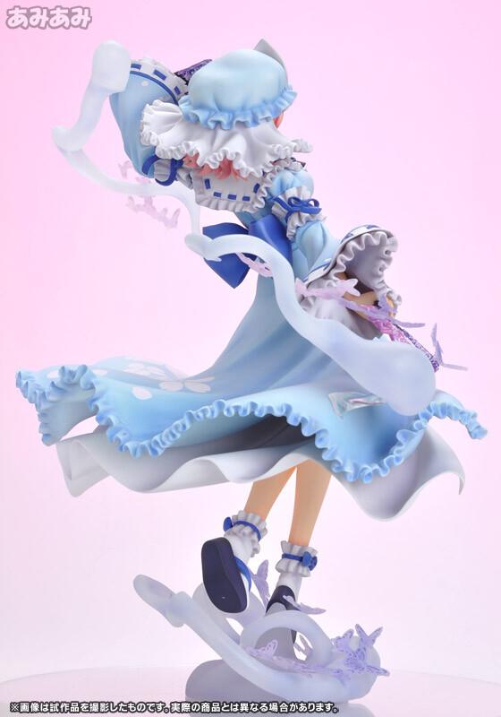 Yuyuko Saigyouji - Ghost Girl in the Netherworld Tower [Touhou Project] [1/8 Complete Figure]