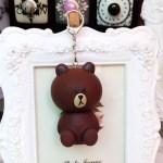 Kawaii медведь, зайка, цыпленок — брелки для ключей 8