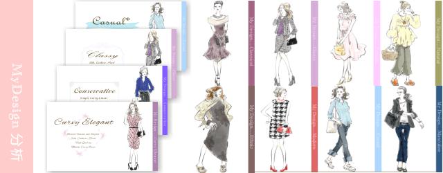 mydesign分析(ファッションタイプ分析)