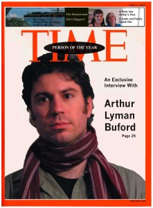 Arthur Lyman Buford: Person of the Year. Courtesy Carolyn Boyd.