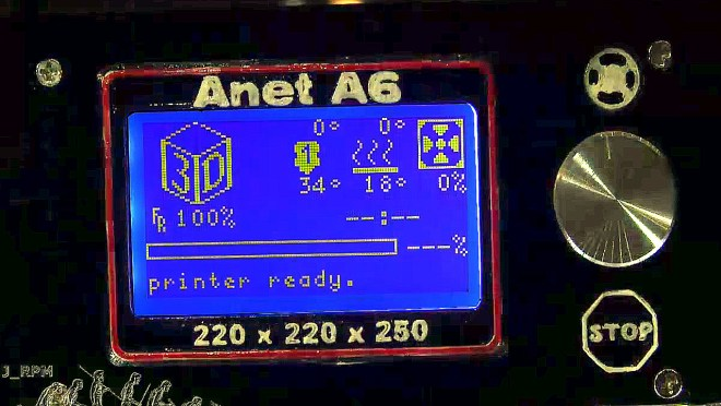 Modificaciones del frontal Anet A6