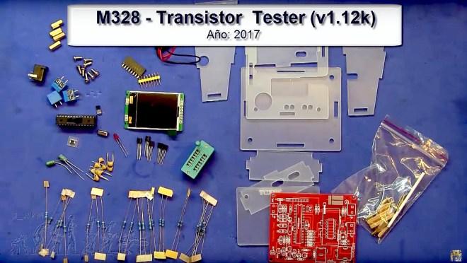 Kit: M328 Transistor Tester