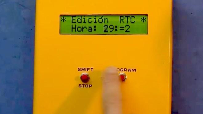 Configurando el control de riego