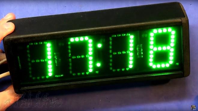 Reloj serie con el nuevo PCB