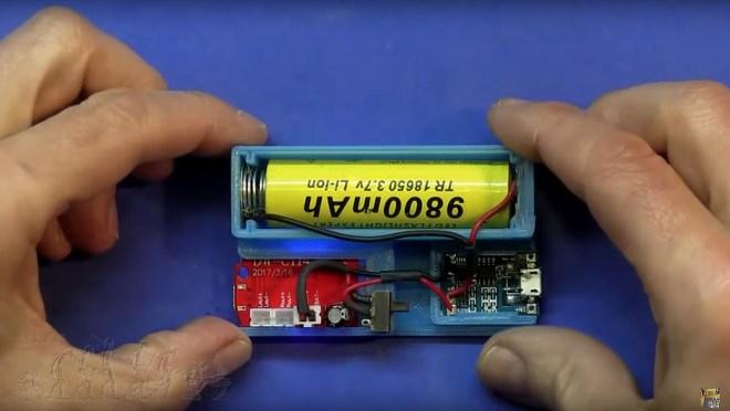 Soporte de los 2 PCB's y la batería