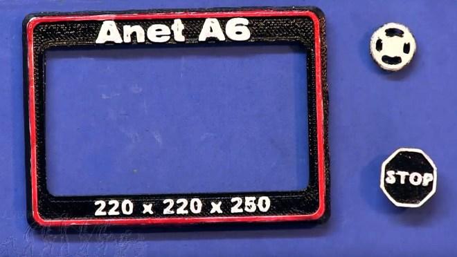 Marco del display para ANET A6