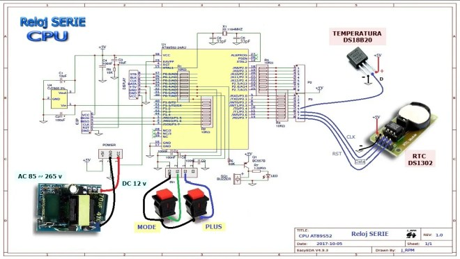 CPU: Reloj SERIE