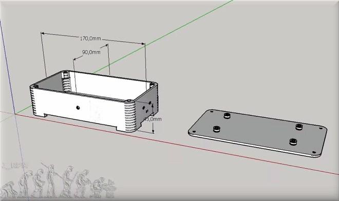 Caja 3D: Avisador para Smartphone