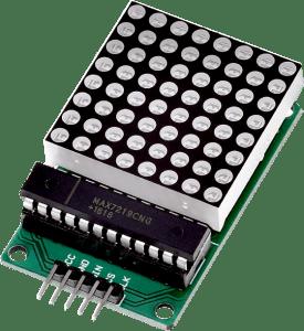 Matriz LED 8x8 pixel