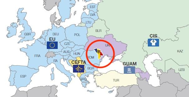 東ヨーロッパの内陸国・モルドバ