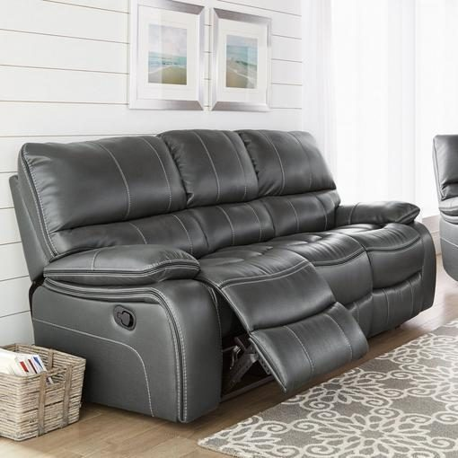 Sears Pendleton Leather Look Power Reclining Sofa Redflagdeals Com & sears leather sofa | Centerfieldbar.com islam-shia.org