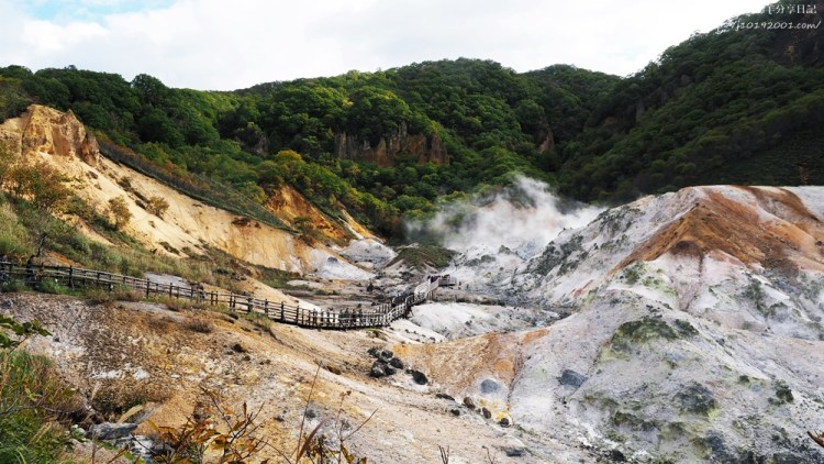 北海道景點︱登別地獄谷 鐵泉池 藥師如來溫泉