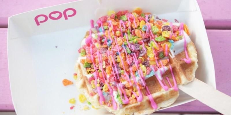 台南甜點︱韓風來襲 IG拍照打卡熱門地 POP 鬆餅&奶昔 夢幻系水果飲品+鬆餅棒棒(暫停營業)