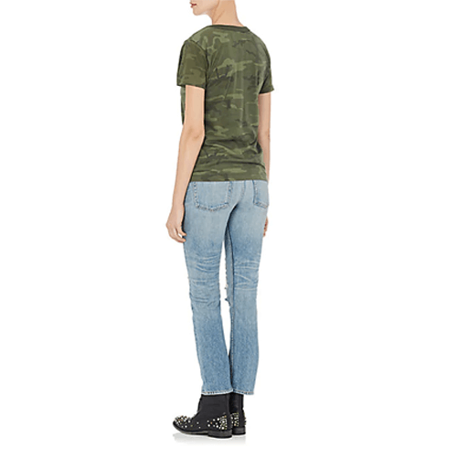 ?OBJECTS OF DEVOTION? CAMOFLAGE JERSEY T-SHIRT