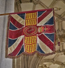Guidon of the Royal Hampshire Regiment