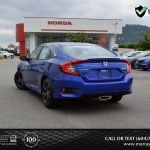 Used 2020 Honda Civic Sport Sedan 1 Speed Cvt W Od Allworks Digital Carmart Dealership In Surrey