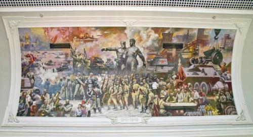 Crazy Russian Mural 6