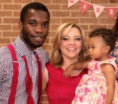 Mum & Dad & Happy Baby