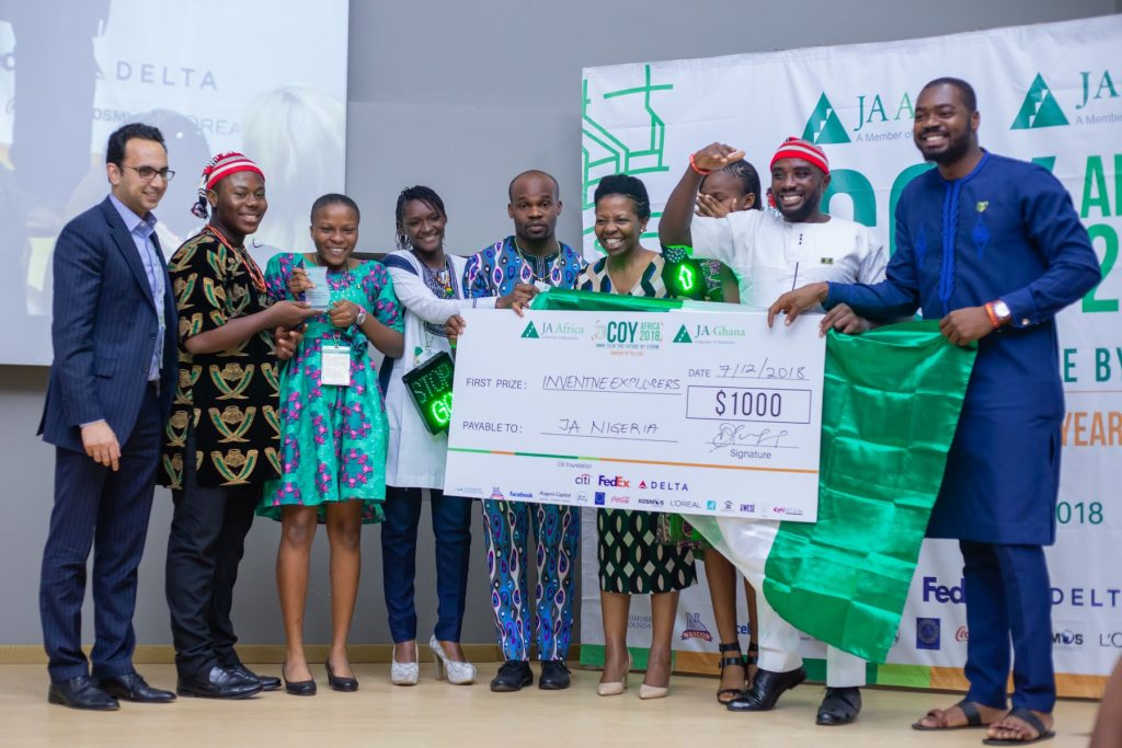 WINNERS OF THE 2018 JA AFRICA COMPANY OF THE YEAR