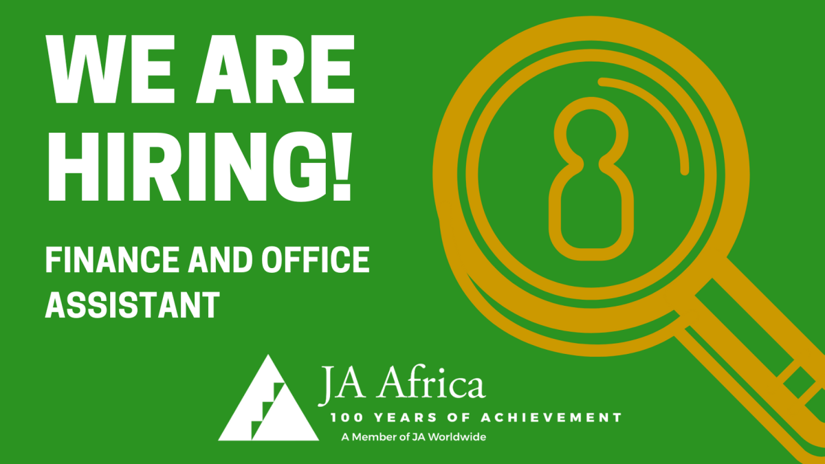 Finance and Office Assistant Wanted – JA Africa