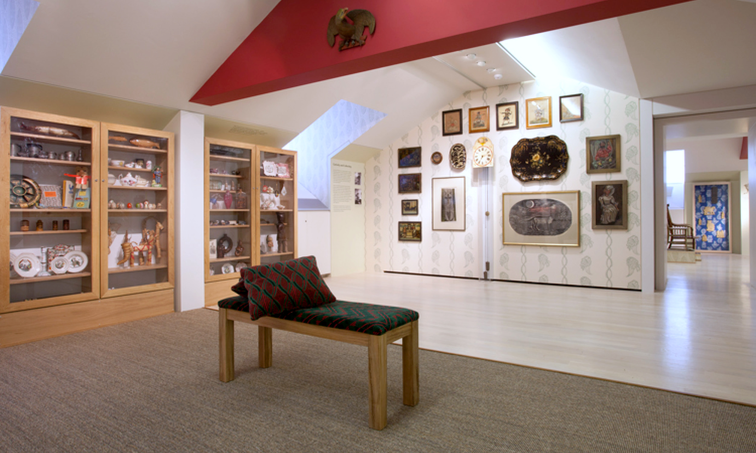 Exhibition installation at Compton Verney (with O-SB Design) thumbnail