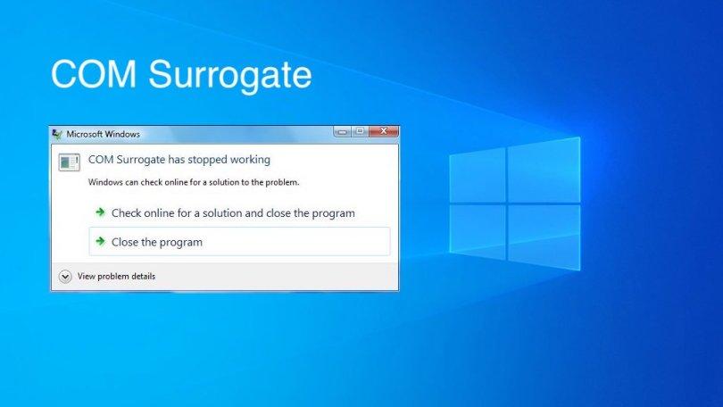 COM Surrogate-stop