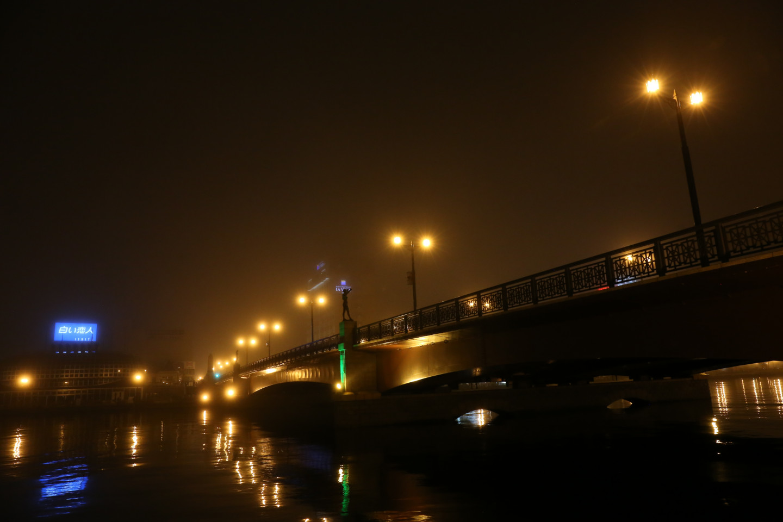 海霧に包まれる、釧路の涼しい夏