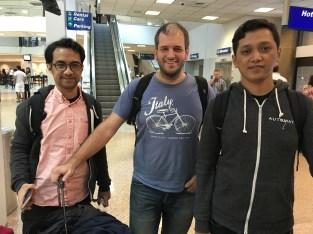 ソルトレイクシティ国際空港に到着。