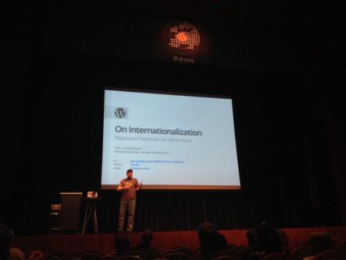 Otto のセッション「On Internationalization」