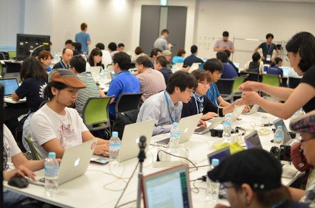 WordCamp Kansai 2014 コントリビューターデイの様子