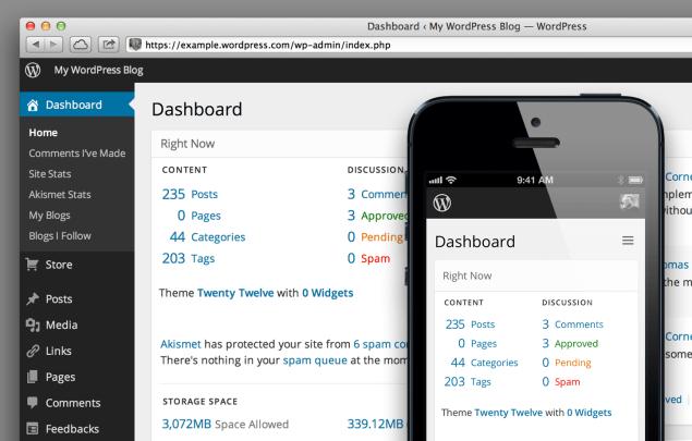 WordPress の未来のダッシュボード「MP6」