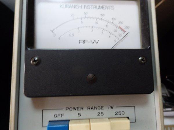 スカイハンター SKY HUNTER TW-1600/800 リニアアンプ 出力