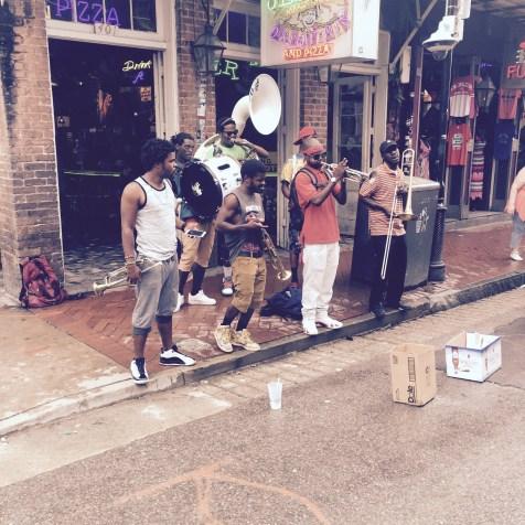 Bourbon St Performers