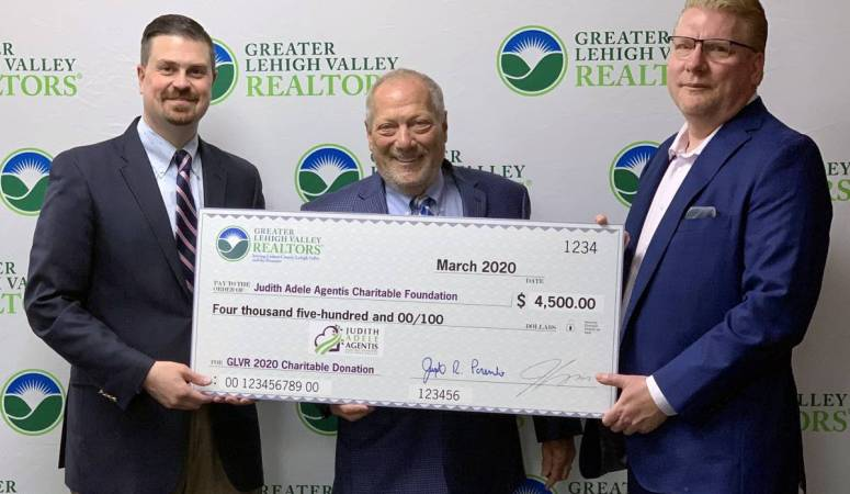 Greater Lehigh Valley REALTORS Names Judith Adele Agentis Foundation Charity of Choice for 2020