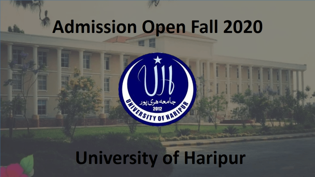 [Admissions Open Fall 2020] The University of Haripur