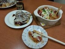 """Takoyaki! basic and """"Italian style"""""""