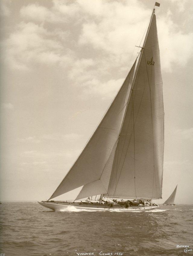 """""""Yankee"""" til havs i 1935."""