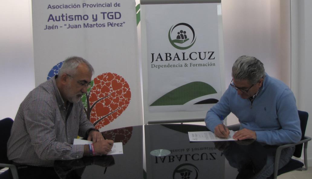 Firma convenio de colaboración con Asociación Provincial de Autismo «Juan Martos Pérez»