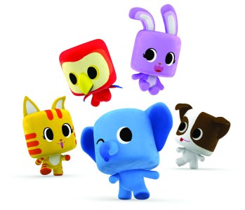 Beberapa karakter animasi dari Animarsh yang telah dikerjakan oleh tim max3 studioworks. Saat ini Biznet Networks sedang memproduksi tayangan animasi lokal pertama di Indonesia. Tayangan tersebut akan muncul di max3 kids, saluran hiburan khusus anak di jaringan TV kabel miliknya.(istimewa)