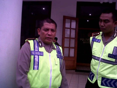 Kapolrestabes Bandung Komisaris Besar Abdul Rakhman Baso/Avila Dwiputra